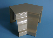 High-quality Plastic PVC K-style 135 degree Inside corner of rainwater collection
