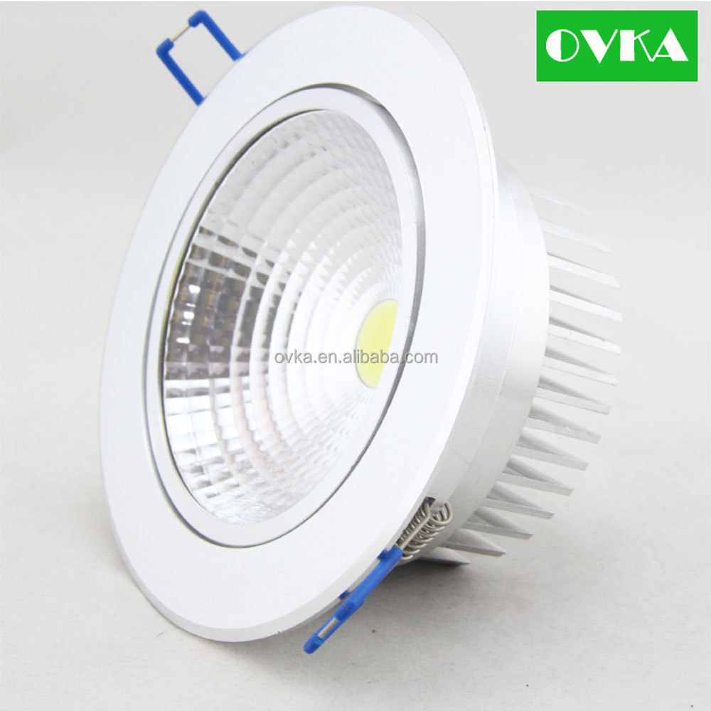 wholesale led downlight cob recessed ceiling light 3w 30w