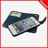 wallet detachable magnet leather case for iphone 5 flip leather case