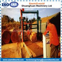 Double Saw Blade Angle Sawmill Log Cutting Portable Sawmill Sawmill Machine