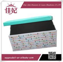 Plegable moda uñas esmalte de uñas esmalte caja de almacenamiento LJJ-322O