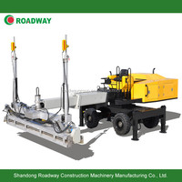 ROADWAY boom type laser screed, laser leveling machine