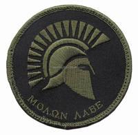 Triple Aught Design / TAD Gear Molon Labe Spartan Velcro Patch