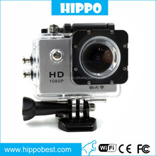 New design sj6000 Support SD 36G Sports Action Wireless 30M Waterproof camera With 2MP/5MP/8MP/12MP