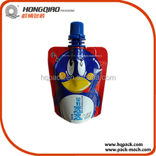 China Wholesale Market Drink Pouch With Spout Packaging