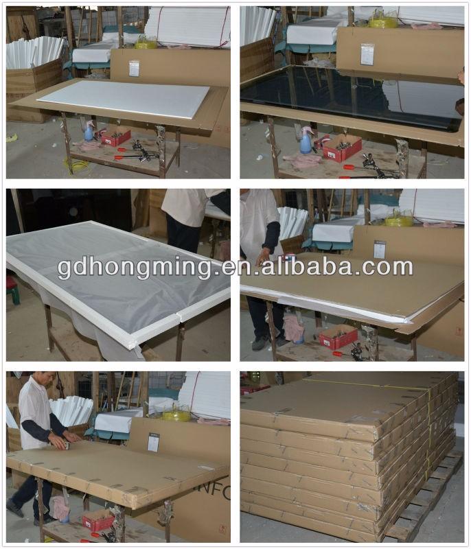 1.1*1.1 M 광장 중공 블랙 흰색 래커 커피 테이블 홈 차 테이블-커피 ...