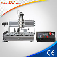 Widely Used In Advertising Industry 6040 4 Axis Wood Carving Machines For Sale