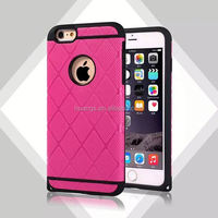 Smart PC Silicone Hard Armor Dual Layers for iPhone 6 Plus Case for Mobile Phone