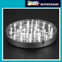 Table Lighting For Wedding LED Super Bright White Centerpiece Light Base