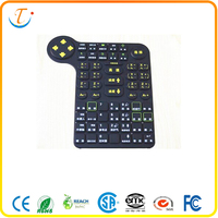 Industrial keyboard touchpad Silicone Keypad