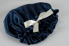 100% Silk Satin Sleep Hair Cap For Care Hair