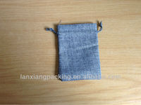 Drawstring Jute Jewelry Pouch/Jute Bag Wholesale