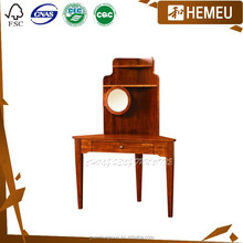 DR0903 Top china furniture wholesale real wood dressers with small mirror