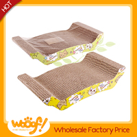 Hot selling pet cat products high quality wholesale cardboard cat scratchers