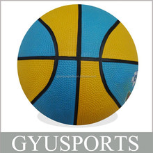 GY-D019 Hot Sale Cheap price Rubber Mini basketball for children