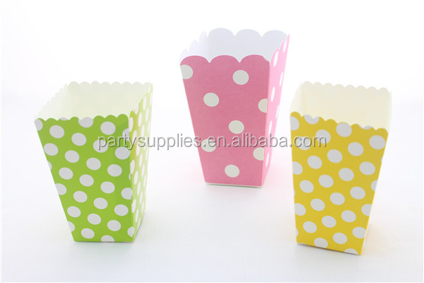 Plain Popcorn Popcorn Box in Plain Color