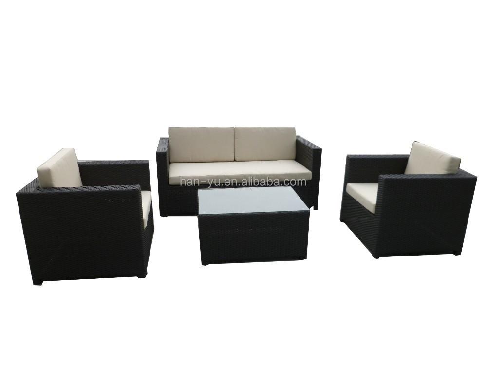 Modern wicker furniture garden furniture outdoor sofa for Modern rattan sofa