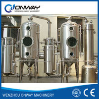 WZD high efficient factory price stainless steel industrail water distiller