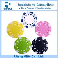 OEM Design 40*3.3mm Blank Chips Poker