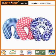 2015 most confortable Kneading and Heat Travel Colorful promotion pillow