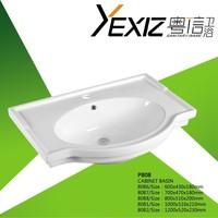 P808 china suppier price sink bathroom cabinet basin wash hand bowl