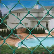 Allibaba.com Chain Link Fence With Round Galvanized Post
