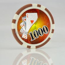 Casino ABS Plastic Poker Chips 11.5g Two Tone Poker Chips (KL110)