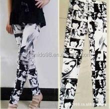 Wholesale 92% Polyester 8% Spandex Woman Leggings Girls pics