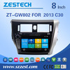 ZESTECH car gps player for great wall c30 with car headunit 2 din radio gps mp3 player
