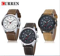 2016 New Coming Design Curren New Style Quartz Watch Mix Color Special Man Watches