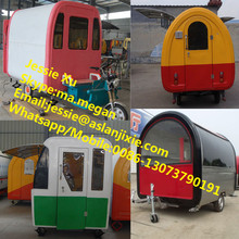 Supply mobile fast food carts with wheels/mobile food cart with frozen yogurt machine