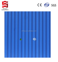 plastic pvc roofing sheet for shed small wave