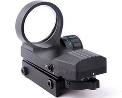 Tactical Holographic Laser Sight Scope 33mm Reflex Red Green 4 Reticle Picatinny