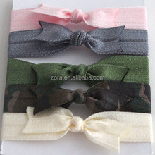 2015 new arrival colorful elastic hair ties for girls
