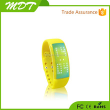 2015 new bluetooth smart bracelet , bluetooth smart wristband , smart band with pedometer function