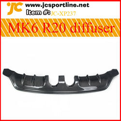 for vw golf 6 MK6 R20 EXOT body kits Front lip,side skirts,rear diffuser