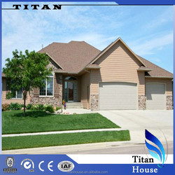 Easy Installation Prefabricated Metal Houses with Garage for Germany