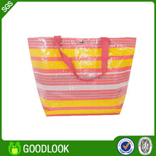 pp woven top sale cheap printed shopping bags GL179