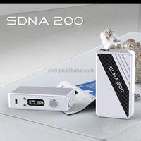 Wholesale mechanical mod vape malaysia/ mellody box mod disposable ecig with original DNA 200 chip titan vaporizer/