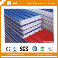 eps sandwich wall panel used for prefab house with high strength and fireproof feature