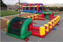 soccer table court inflatables / human soccer table portable / inflatable human table soccer