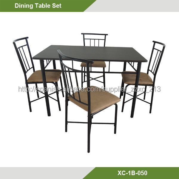 Mesa de comedor mas 4 sillas for Comedor 4 sillas lider