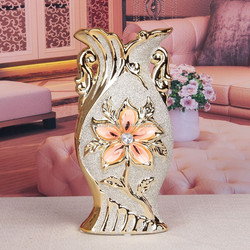 cheap OEM Chinese ceramic flower tall fancy vases painting designs vintage