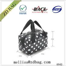 canvas bag with outside pvc coating thermostat bag cooler bag