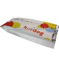 hot dog aluminum foil paper bag
