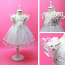 2015 New Frock Design Cheap Princess Elsa Costume For Baby Girl Wedding Dress