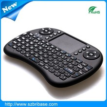 High Quality wireless keyboard air mouse bluetooth keyboard with touchpad for tv