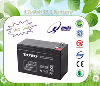 durable 12v9ah sealed acid battery storage battery for solar system