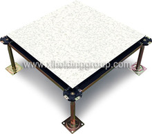 Antistatic PVC tile, Wood Core Raised Access Floor, made in China
