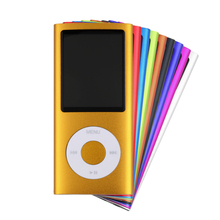 4GB Mp3 MP4 Video Player Blue Mp4 Multimedia Player Manual Hard Disk Free space, 100MB At Least